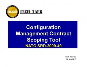 CM Contract Scoping Tool